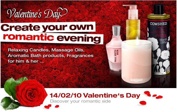 To celebrate Valentine's Day, Salon Skincare will make new banners available